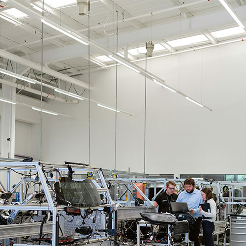 best lighting for manufacturing facility