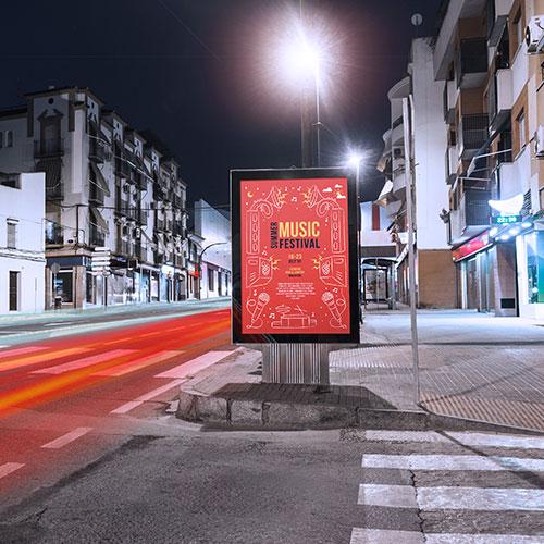 street lighting led image